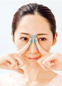 1分でできる!朝コルギ基本の7ステップ-Step4 まぶたのむくみ取り アイホール押し:日経ウーマンオンライン【肌美人に教わる-5歳のキレイ術】 Beauty Care, Beauty Makeup, Beauty Hacks, Face Makeup, Face Lift Exercises, Face Massage, Massage Techniques, Massage Therapy, Perfect Body