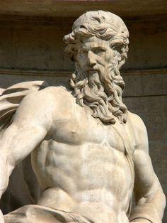representation of the Titan Oceanus  a figure from Greek mythology    Iapetus Greek Mythology