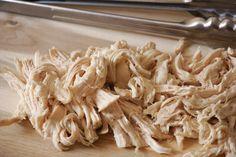 Shredded Chicken Breast [Instant Pot]