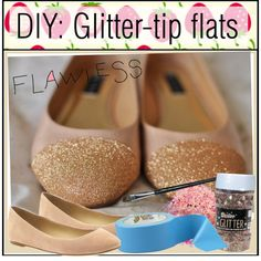 Make your own bling bling shoes
