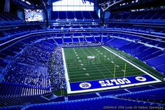 Indiana - Colts game at Lucas Oil Stadium