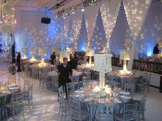 glamorous indoor wedding - Google Search