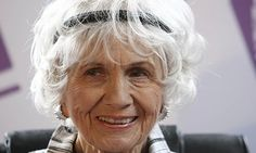Nobel literature prize winner Alice Munro is quintessentially Canadian, says fellow countrywoman and writer Margaret Atwood. Photograph: Pet...