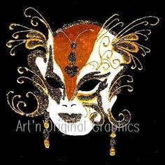 Venetian mask: the #Butterfly