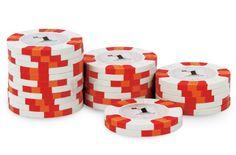 Rouleau de 25 jetons Nexgen Pro Classic $1 - Pokeo.fr - Rouleau de 25 jetons poker 100% clay (9,5g) Nexgen Pro Classic $1 blanc.