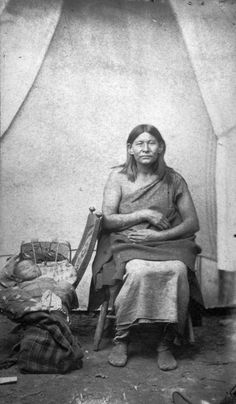 Osage woman and child - 1880/1910