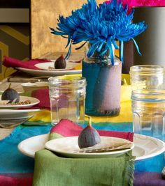 A Colorful Autumn Table