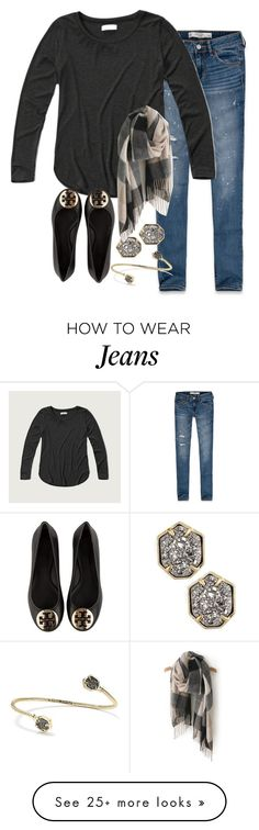 """Don't hide from your weaknesses face them out in the open for everyone to see"" by keileeen on Polyvore featuring Abercrombie & Fitch, Tory Burch and Kendra Scott"