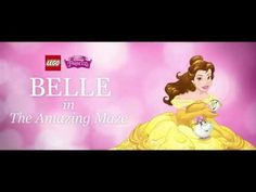 Belle in the Amazing Maze - LEGO Disney Princess - Stop Motion - YouTube