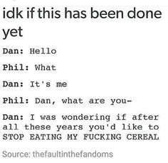Hello by Dan and Phil