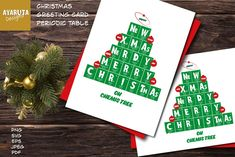 Periodic Table Nerdy Christmas Tree greeting card Science Art | Etsy Christmas And New Year, Christmas Cards, Merry Christmas, Xmas, Christmas Ornaments, Happy Design, Creative Design, Educational Christmas Gifts, Science Art