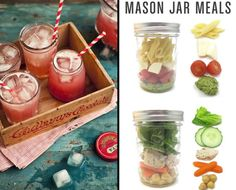 Good idea...but that is NOT enough food! Mason jars are pretty small. There are like 12 pieces of pasta in there!