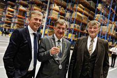 Mark Diks, Burgemeester van Uden Henk Hellegers en Anton Neus