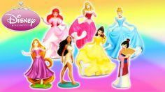 Rainbow Toys, Frozen Elsa And Anna, Play Sets, Rapunzel, Ariel, Pocahontas, Aurora, Minnie Mouse, Disney Princess