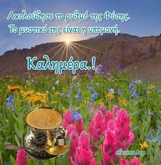 Greek Quotes, Good Morning Quotes, Happy Birthday, Life, Quotes, Happy B Day, Happy Birth Day