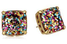 Glitter gem sparkle earrings - Kate spade