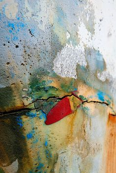 Chili Spot - Detail of a boat under repair, Maryland by Janet Little Jeffers