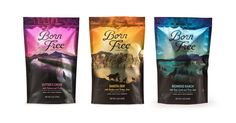 Born Free Pet Food on Packaging of the World - Creative Package Design Gallery