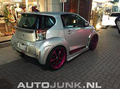 Getunede Toyota IQ foto's » Autojunk.nl (157412) Microcar, Cars Usa, Smart Car, City Car, Scion, Modified Cars, Custom Cars, Jdm, Chevy