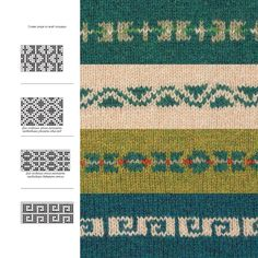 Motif Fair Isle, Fair Isle Pattern, Knitting Patterns, Quilts, Decor, Tricot, Decoration, Comforters, Decorating