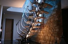 Professionals in staircase design, construction and stairs installation. In addition EeStairs offers design services on stairs and balustrades. Stairs And Staircase, Metal Stairs, Modern Stairs, Basement Stairs, Spiral Staircase, Staircase Design, Stair Design, Glass Stairs, Contemporary Stairs