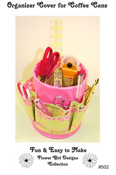 Desk or Sewing Table Organizer Sewing Pattern