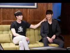 with Lee tae hwan