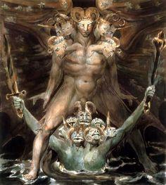 The Beast  © William Blake 1805