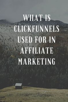 what is clickfunnels used for in affiliate marketing Make Money Blogging, Make Money Online, How To Make Money, How To Become, Seo Marketing, Influencer Marketing, Affiliate Marketing, Business Tips, Online Business