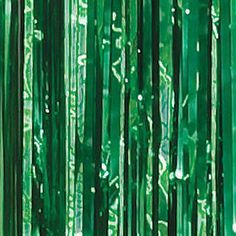 Green Foil Curtains look great for photo ops, backdrops and entrances with the magnificent shine. Emerald City ...