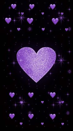 Heart Wallpaper, Purple Wallpaper, Love Wallpaper, Cellphone Wallpaper, Wallpaper Backgrounds, Iphone Wallpaper, Sparkles Background, Heart Background, Plum Art