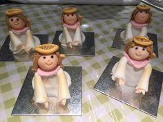 Walnut whip fondant Angels, completely edible! Walnut Whip, Fondant, Angels, Crafts, Decor, Manualidades, Decoration, Angel, Handmade Crafts