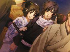 斎藤一<3 Samurai, Anime English Dubbed, Black Butler Anime, After Life, Bishounen, Cg Art, Cute Anime Couples, Love Images, Noragami