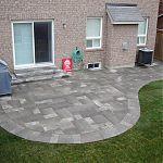 Love this stone. Villanova patio with Ortana steps