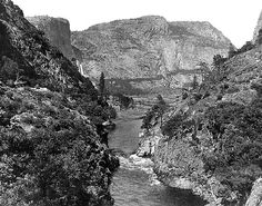 Hetch Hetchy Valley, near Yosemite.
