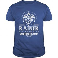 I Love The Legend Is Alive RAINER An Endless Legend T-Shirts