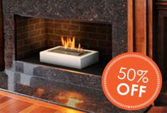 Browse our Bioethanol Fireplace Selection:Have you ever wanted a fireplace in your home, but you rent or lease it, or simply just cannot afford the cost to put a fireplace and chimney in your home? Well, not only are you now able to put a fireplace in any home, but you can also take it in any room with you.