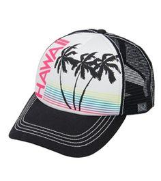 Billabong Women s Hawaii Heat Trucker Hat  swimoutlet 956210c29dd3