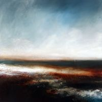 Art from Paul Bennett available for sale from Saffron Gallery Paul Bennett, Master Class, Glasgow, Monet, Farm House, Landscape Paintings, Abstract Art, Clouds, Inspired