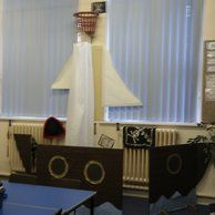 classroom decor with a pirate theme- fun ways to transform your classroom into a pirate theme