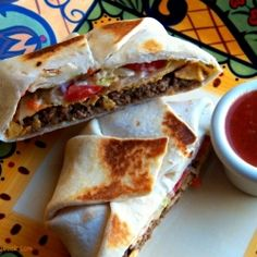 Taco Bells Crunchwrap recipe