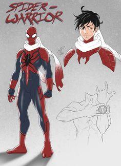 Spiderman Suits, Spiderman Art, Amazing Spiderman, Dc Comics Vs Marvel, Marvel Art, Siper Man, Spider Man Unlimited, Anime Demon Boy, Spider Girl