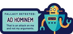 Robot Logical Fallacy pictures