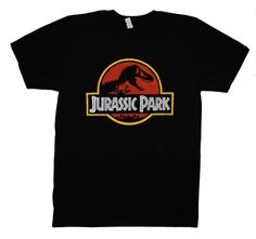 Jurassic Park Logo Steven Spielberg Movie T-Shirt Tee for only $13.50 You save: $6.49 (32%) + Free Shipping