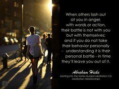 #AbrahamHicks #Relationships #Battle