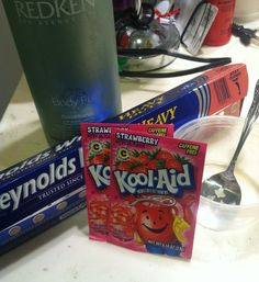 How to Dye Your Hair With Kool Aid! by Kelli Smith