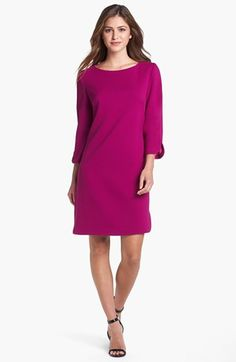 Eliza J Shift Dress available at Nordstrom I like this too because I could wear it to church and even to school