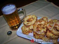 Τραγανά δαχτυλίδια κρεμμυδιών στο φούρνο