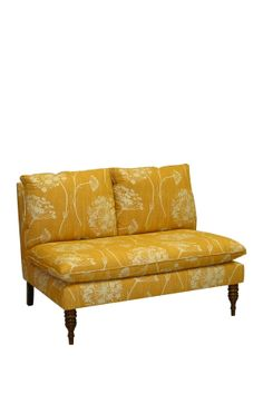 queen annes lace butterscotch chaise kitchen table seating, would be cute in a red fabric,