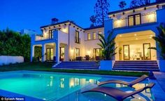 Celebrity Houses: Charlie Sheen House in Beverly Hills for Sale | Celebrity Homes